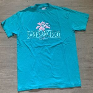 Vintage San Francisco Shirt Beefy Hanes USA